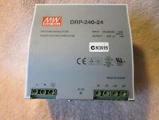 MEAN WELL [ DRP-240-24]  10 AMP POWER SUPPLY