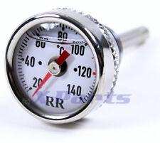 RR Öltemperatur Anzeige Ölthermometer Piaggio Vespa ET4 LX LXV S GTS Super WEISS