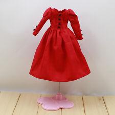 "Takara 12"" Blythe Doll Long Restoring Ancient Ways The Skirt -Red Dress"