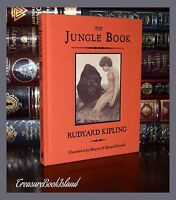 Jungle Book by Kipling Illustrated New Unabridged Cloth Bound Deluxe Hardcover