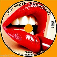 200 + Great EROTICO MP3 AUDIO Libri caldo adulto corto storie &racy Tales NUOVO
