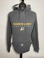 Reebok Washington Redskins NFL Equipment Grey Sweatshirt Hoodie Hoody XL