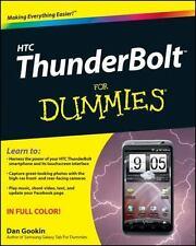 HTC ThunderBolt For Dummies (For Dummies (Computer/Tech))