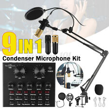 Kondensator Microphone Mikrofon W/V8 Live Broadcast Großmembran Studiomikrofon