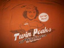 Twin Peaks Airlines, Mile High Adventures Get Up Here, Stewardess XL T-Shirt