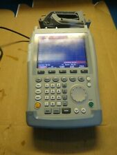 Rohde Amp Schwarz Fsh6 Portable Spectrum Analyzer 100khz 6ghz