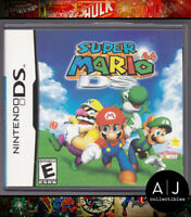 Super Mario 64 DS (Nintendo DS, 2004) CASE AND MANUALS ONLY