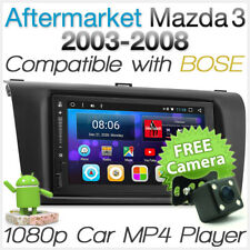 Android Car MP3 Player Radio For Mazda 3 BK 2003-2008 Stereo BOSE GPS Head Unit