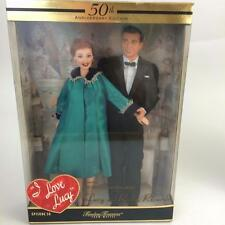 50th Anniversary I Love Lucy Desi 2 Doll Set Enceinte Pregnant NIB Lucille VIDEO