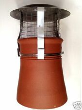 Chimney Cowl  multi fuel STAINLESS STEEL ~ EXPRESS OR STANDARD DELIVERY OPTION ~