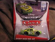 DISNEY PIXAR CARS 2 PISTON CUP SERIES SHINY WAX NO. 82
