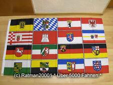 Fahnen Flagge 16 Bundesländer - 90 x 150 cm