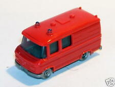 MICRO WIKING 1/160 MERCEDES BENZ MB TRANSPORTER POMPIERS NO HO