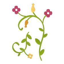 Lifestyle Crafts QuicKutz Cutting Die Set TROPICAL FLOURISH Flower, Vine -DC0147