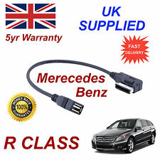 Mercedes Benz R CLASS MP3 MEMORY Stick USB Cable Media Interface