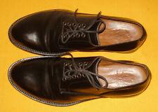 ELEVENTY BLACK MADE IN ITALY GENUINE LEATHER DERBY SHOES SIZE U.K 7.5/U.S 8.5.