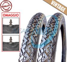 2 COPERTONI PNEUMATICI GOMME + CAMERE 2 - 17 MOTO PIAGGIO CIAO SC PX TEEN FL VIN