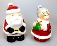 Salz- und Pfeffer Set Weihnachtspaar Weihnachtsmann & Weihnachtsfrau Weihnachten