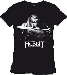 The Hobbit - Gandalf T-Shirt Uomo S TIMECITY
