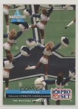 1992 Pro Set Innovators Dallas Cowboys Cheerleaders #35