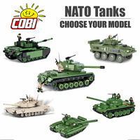 COBI Post WW2 Tanks Construction Sets - Choose Your Model
