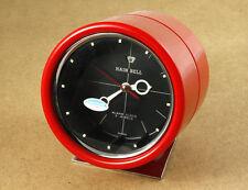 Hain Bell Vintage Futuristic Hand Winding Alarm Clock Madein Korea New Old Stock