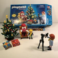 Playmobil Seasonal Christmas Photo Santa Claus #5753 Complete