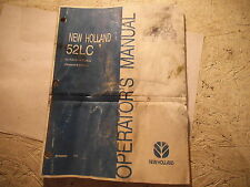 New Holland 52LC Operator's Manual 87049995 7/04 (SEEN BETTER DAYS)