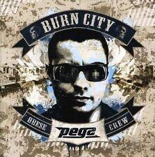 Burn City * by Pegz ( VINYL LP  Nov-2007, Obese Records) OZ HIP HOP aus hiphop