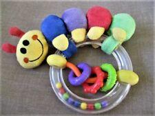 Baby Einstein Caterpillar Rattle Ring Oiginal Version