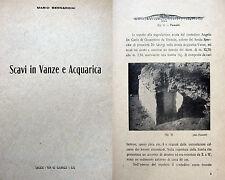 PUGLIA LECCE VANZE E ACQUARICA ARCHEOLOGIA CON ILLUSTRAZIONI