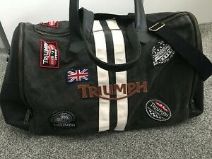 Triumph Motorcycle Bag Duffle