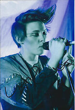 La ROUX Elly Jackson SIGNED Autograph 12x8 Photo AFTAL COA In For The Kill RARE