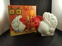 Avon Country Kitchen Decanter Moisturized Hand Lotion Rooster Empty with Box