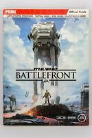 Star Wars Battlefront Official Strategy Guide Book Prima Lucas Film EA VGC