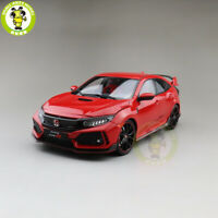 1/18 LCD Honda Civic Type-R Type R Diecast Model Car Toys Gifts Red