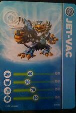Jet Vac Skylanders Giants Stat Card Only!