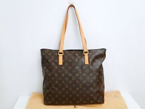 Louis Vuitton Cabas Mezzo Shoulder Hand Bag M51151 Monogram Brown 32180296900 2