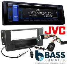 Land Rover Freelander 06-14 JVC CD MP3 AUX USB Single Din Car Radio Steering Kit