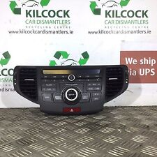 2009 HONDA ACCORD STEREO WITH SAT NAV  CONTROLS NAVIGATION PANEL 39050-TL0-G01