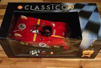 Classico 1:18 Ferrari 312P 1972 Andretti / Ickx Diecast Model Car + Fuel Pump