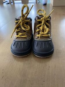NIKE WOODSIDE BRITISH TAN BROWN ACG BOOTS LITTLE  415080-200 TODDLER SIZE 4 C