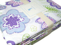 Pottery Barn Kids Multi Color Cotton Floral Paisley Samantha Queen Sheet Set New