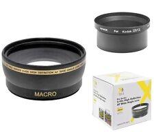 Xit 0.43x Wide Angle Lens for Kodak Z612 Z712 Z812 Z1012 Z8612 IS