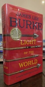 James Lee Burke LIGHT OF THE WORLD Signed First Printing 2013 VF/VF