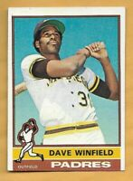 DAVE WINFIELD 1976 Topps Baseball Trading Card #160 ~ San Diego Padres