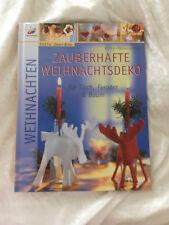 Zauberhafte Weihnachtsdeko für Tisch Fenster und Baum Topp Buch