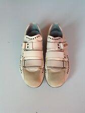 CESARE PACIOTTI men shoes sz 8 Europe 42 White leather