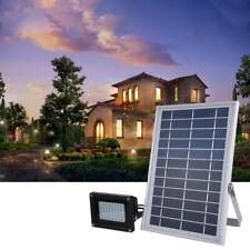 New listing Solar Flood Light 54 Led 6W Solar Panel Outdoor Safety Light Fixture Waterproof