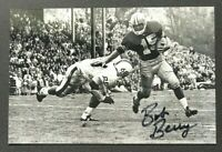 BOB BERRY NCAA Oregon Ducks Football Auto Autographed Signed 4x6 Photo 2